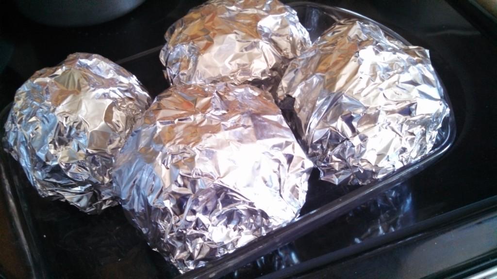 artichokes foil