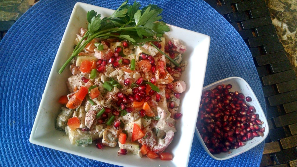 fall mediterranean salad 1