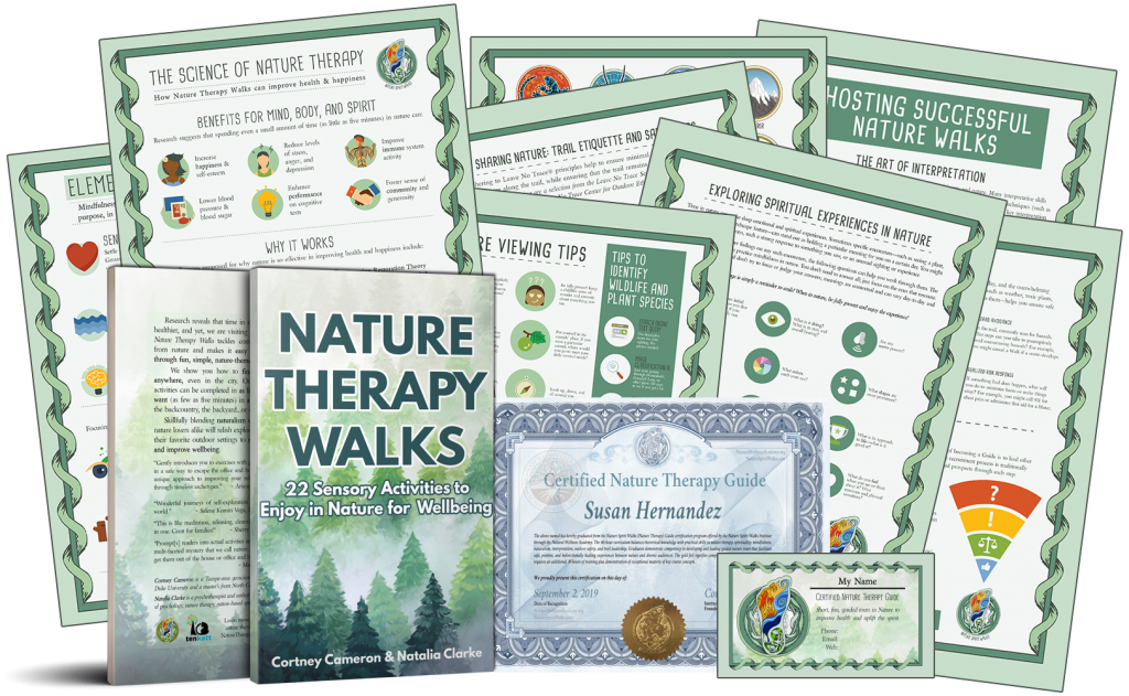 Nature Therapy Certification Materials Sample